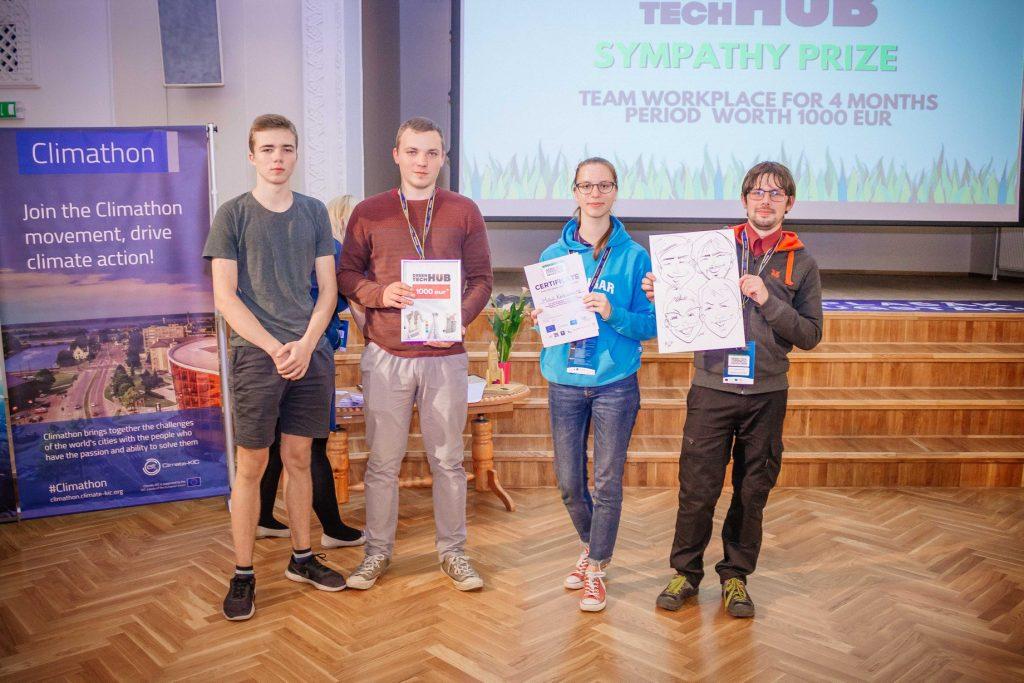 Green Tech Copernicus Hackathon Liepāja